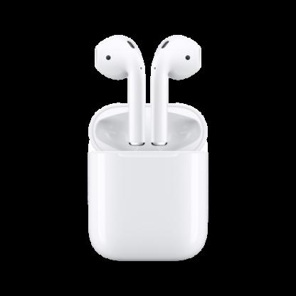 Беспроводные наушники Apple AirPods 2 (с зарядным футляром) MV7N2