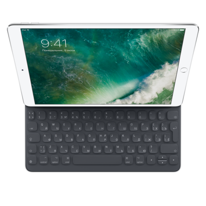 Клавиатура Smart Keyboard для iPad Pro 10,5 дюйма, русская раскладка