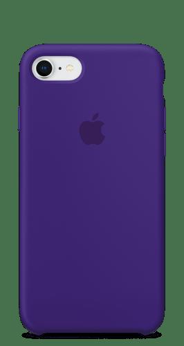 Силиконовый чехол для iPhone 8/7 - Черный