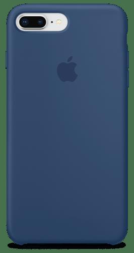 Силиконовый чехол для iPhone 8 Plus/7 Plus - Черный