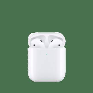 Наушники Apple AirPods 2 в футляре с возможностью беспроводной зарядки