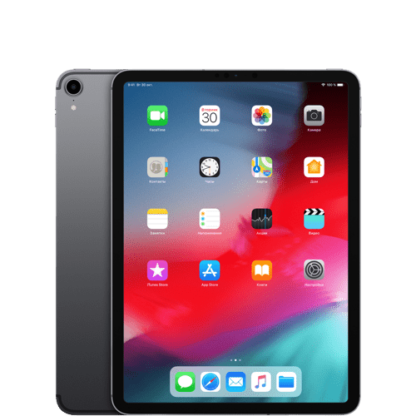 "iPad Pro 11"" Wi-Fi + Cellular 256Gb «Серый космос» 2018"