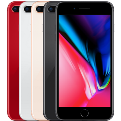 Смартфон Apple iPhone 8 Plus - Red, 256Gb