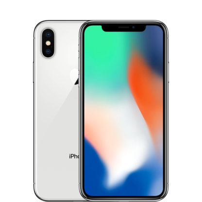 Смартфон Apple iPhone X - Silver, 256Gb