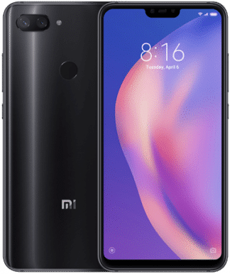 Xiaomi Mi8 Lite Global Version - Синий, 128Gb