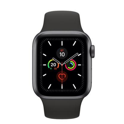 Apple Watch Series 5 Корпус из алюминия цвета «серый космос» • Спортивный ремешок - 40 мм