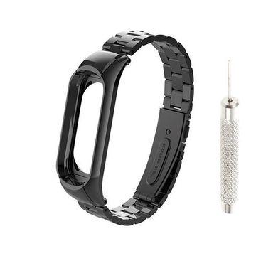 Сменный браслет Xiaomi Mi Band 4 металлический с иглой