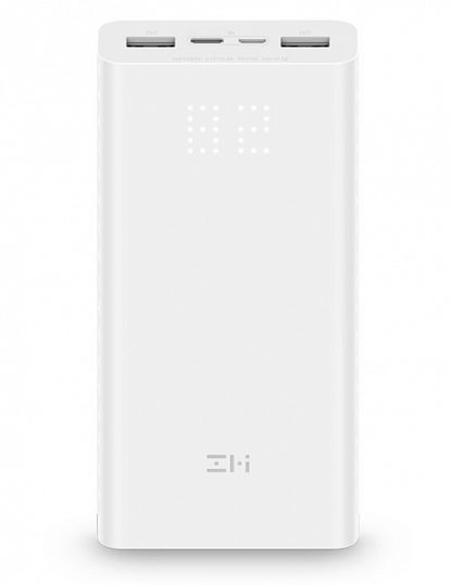 Power Bank Xiaomi Mi ZMI Aura 20000 mAh Белый