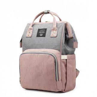 Cумка - рюкзак для мамы Lequeen Dual Розовый