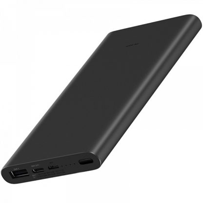 Xiaomi Mi Power Bank 3 10000 mAh Черный