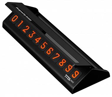 Парковочная визитка Xiaomi Bcase Tita Mini Черный
