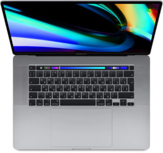 "Apple MacBook Pro 16"" 8 Core i9 2,3 ГГц, 16Gb, 1Tb SSD, AMD RPro 5500M, Touch Bar, серебристый"