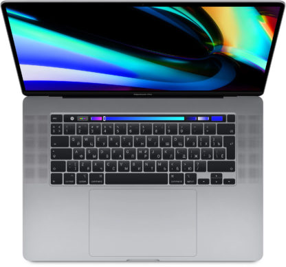 "Apple MacBook Pro 16"" 8 Core i9 2,3 ГГц, 16Gb, 1Tb SSD, AMD RPro 5500M, Touch Bar, «серый космос»"