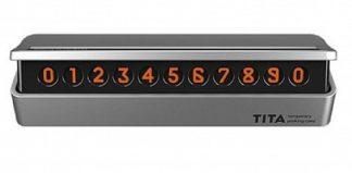 Временная карта парковки Xiaomi bcase TITA Temporary Parking Card Черный