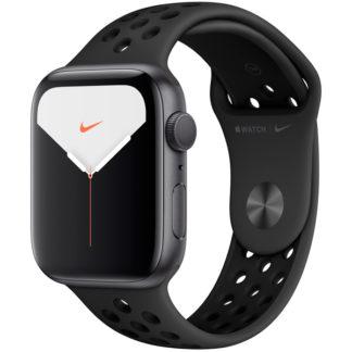 Apple Watch Nike Series 5, 40 мм, корпус из алюминия цвета «серый космос», спортивный ремешок Nike