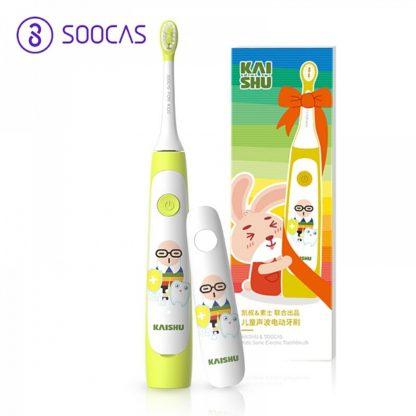 Детская электрическая зубная щетка Xiaomi Soocas Sonic Electric Toothbrush C1 Желтый