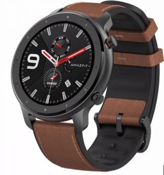 Cпортивные cмарт-часы Xiaomi Huami Amazfit GTR A1902 47mm стальной корпус