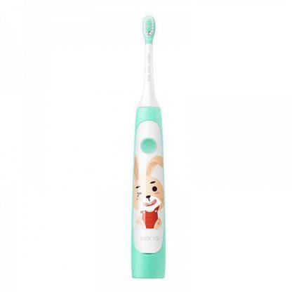 Детская электрическая зубная щетка Xiaomi Soocas Sonic Electric Toothbrush C1 Зеленый
