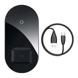 Беспроводное зарядное устройство Baseus Simple 2in1 Wireless Charger