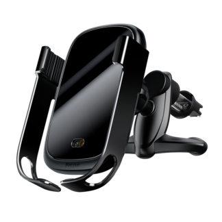 Автомобильный держатель Baseus Rock-solid Electric Holder Wireless charger