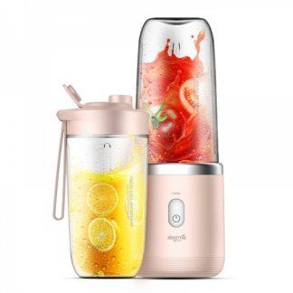 Портативный блендер Deerma Portable Rechargeable Juice DEM-NU05 400ml