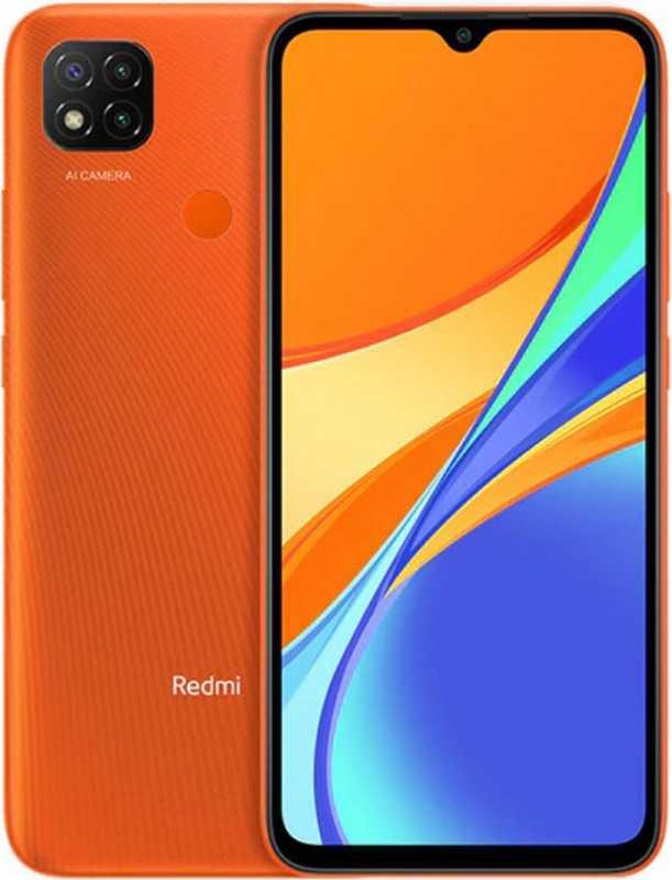 Смартфон Xiaomi Redmi 9C 3/64GB (NFC), оранжевый