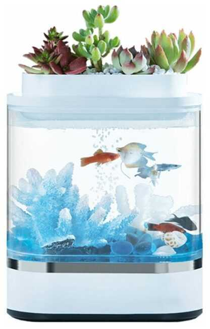 Аквариум, Акваферма Xiaomi Mini Lazy Fish Tank