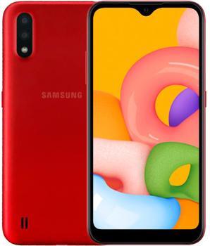 Samsung Galaxy M01 32Gb Красный