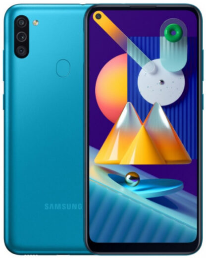 Samsung Galaxy M11  32Gb бирюзовый