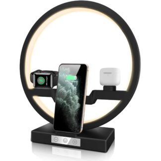 Multifunction Dest Lamp Wireless Charger