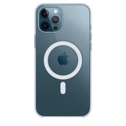 Прозрачный чехол MagSafe для iPhone 12 Pro Max
