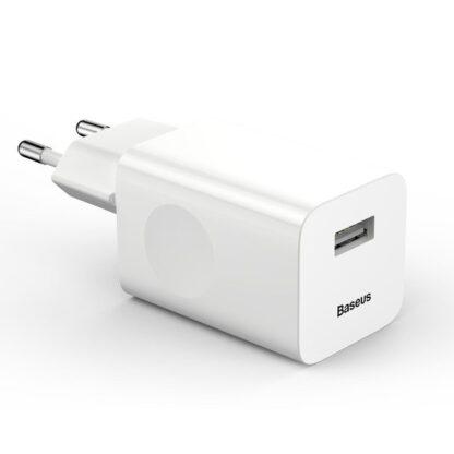 Сетевое зарядное устройство быстрое QC 3.0 Baseus (CCALL-BX02)