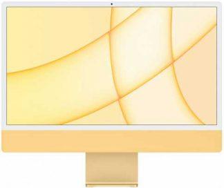 """Apple iMac 24"""" Retina 4,5K, (M1 8C CPU, 8C GPU), 8 ГБ, 256 ГБ SSD, Желтый (2021)"""