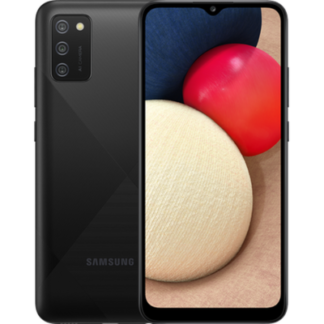Samsung Galaxy A02s 32GB Черный