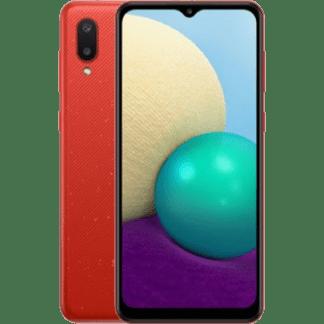 Samsung Galaxy A02 32GB Красный