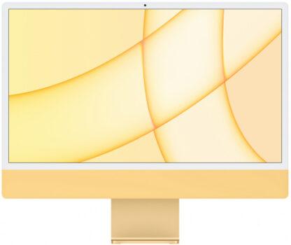 """Apple iMac 24"""" Retina 4,5K, (M1 8C CPU, 8C GPU), 8 ГБ, 512 ГБ SSD, Желтый (2021)"""