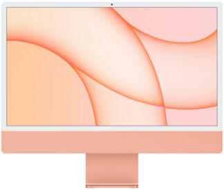 """Apple iMac 24"""" Retina 4,5K, (M1 8C CPU, 8C GPU), 8 ГБ, 512 ГБ SSD, Оранжевый (2021)"""