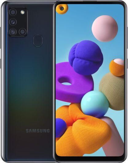 Samsung Galaxy A21s 32GB Черный