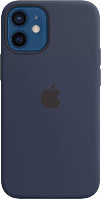 Силиконовый чехол для iPhone 12 mini Темный-ультрамарин