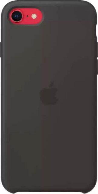 Силиконовый чехол для iPhone  7/8/SE2020 Черный
