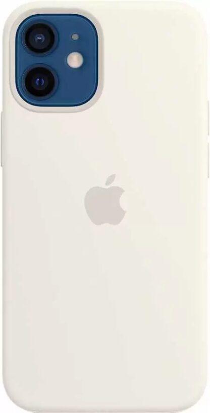 Силиконовый чехол для iPhone 12 mini Белый