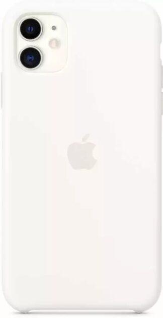 Силиконовый чехол для iPhone  11 Белый