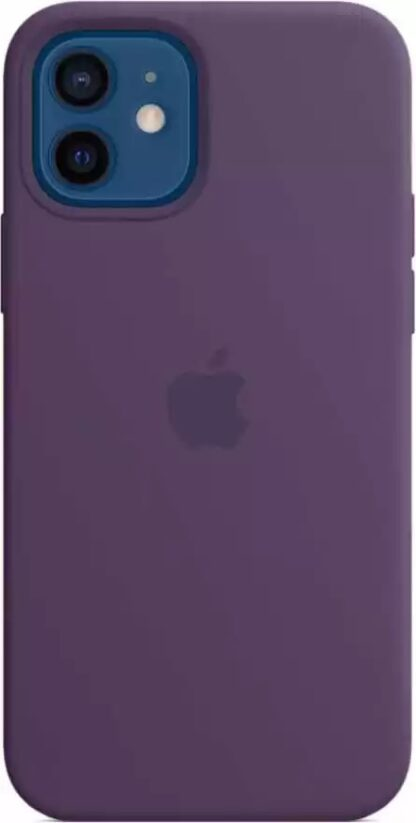 Силиконовый чехол для iPhone 12/12 Pro Фиолетовый