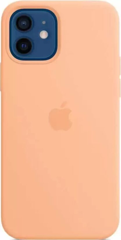 Силиконовый чехол для iPhone 12/12 Pro Оранжевый