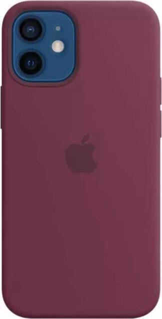 Силиконовый чехол для iPhone 12 mini Сливовый