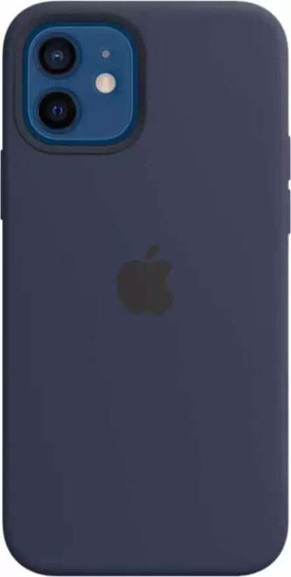 Силиконовый чехол для iPhone 12/12 Pro Темно-зеленый