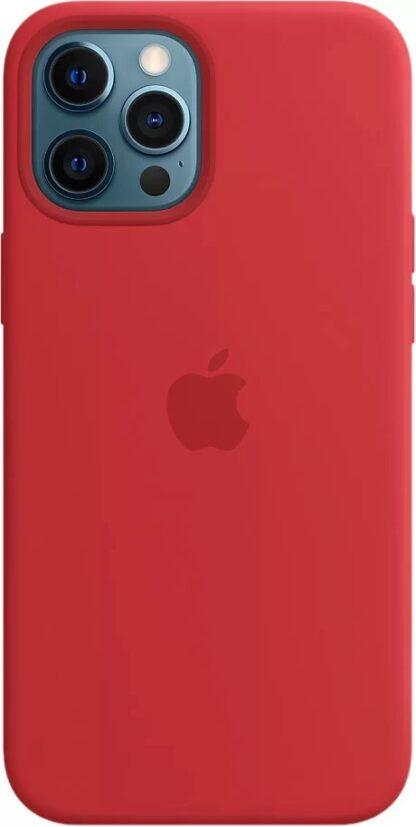 Силиконовый чехол для iPhone 12 Pro Max Красный