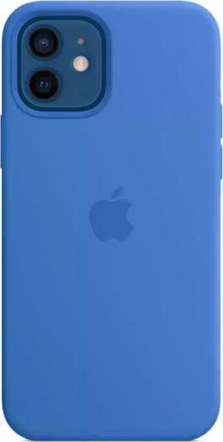 Силиконовый чехол для iPhone 12/12 Pro Синий