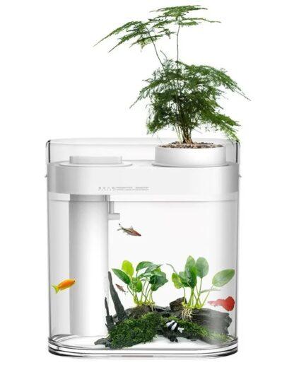 Аква-ферма Xiaomi Descriptive Geometry Amphibious Fish Tank HF-JHYGQC001 White