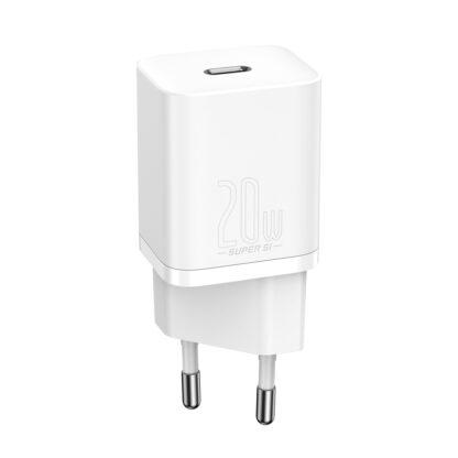 Сетевое зарядное устройство быстрое Baseus Super Si Quick Charger 20W (TZCCSUP-B02)